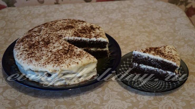 Торт «Черемуховый»