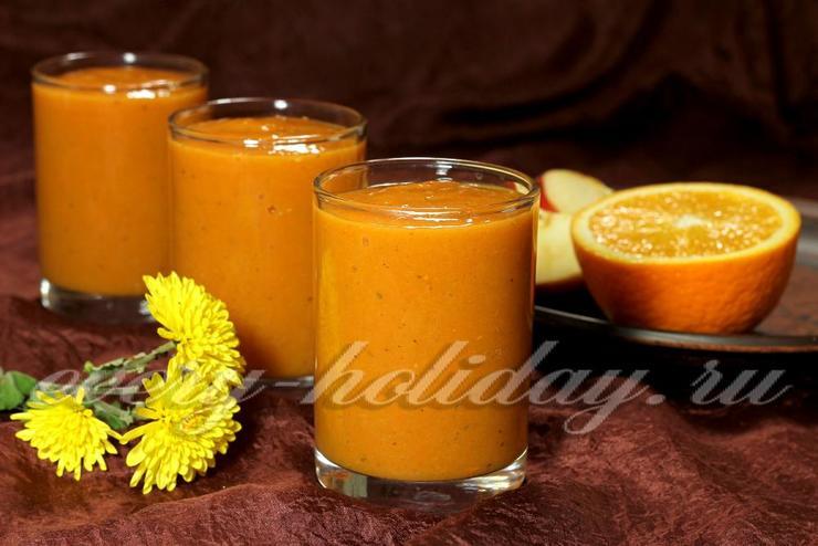 Тыквенно-фруктовый смузи
