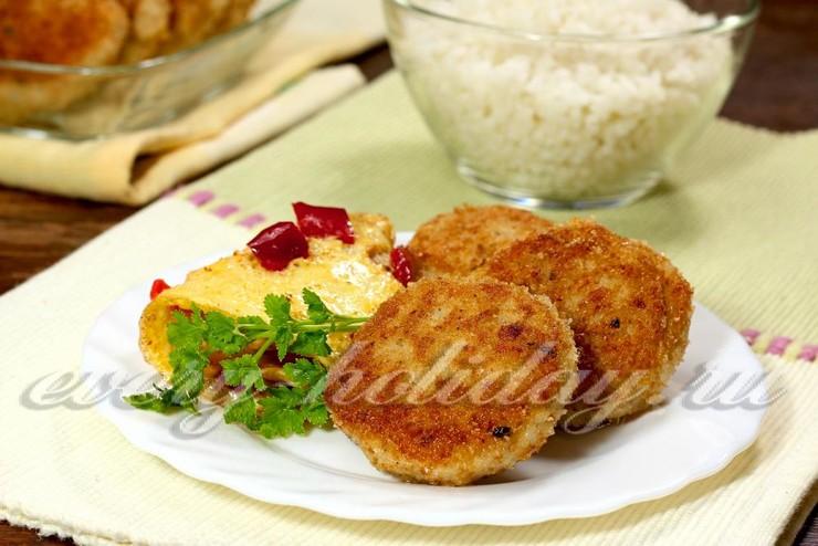 Котлеты из куриного филе рецепт пошагово на сковороде