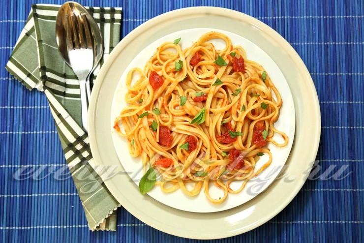 Паста томатная к макаронам рецепты с пошагово