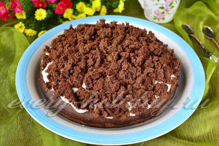 торт норка крота рецепт с фото пошагово в домашних условиях