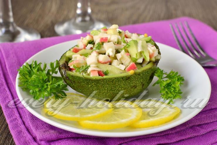 Салаты на новый год рецепты с авокадо
