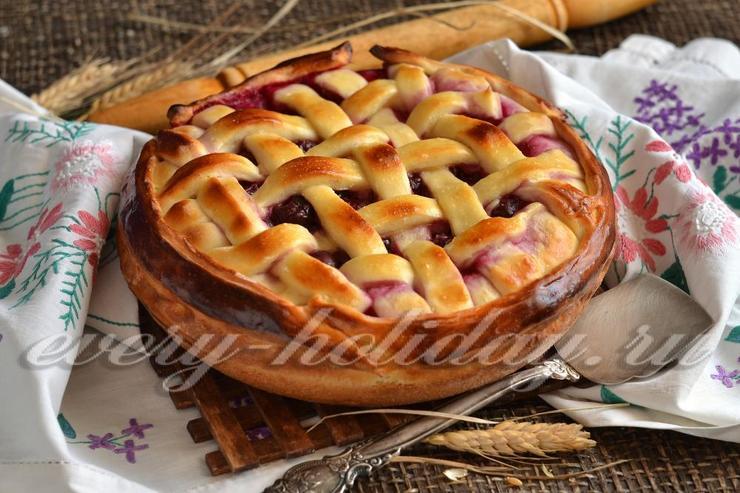 Пироги праздничные из дрожжевого теста рецепты