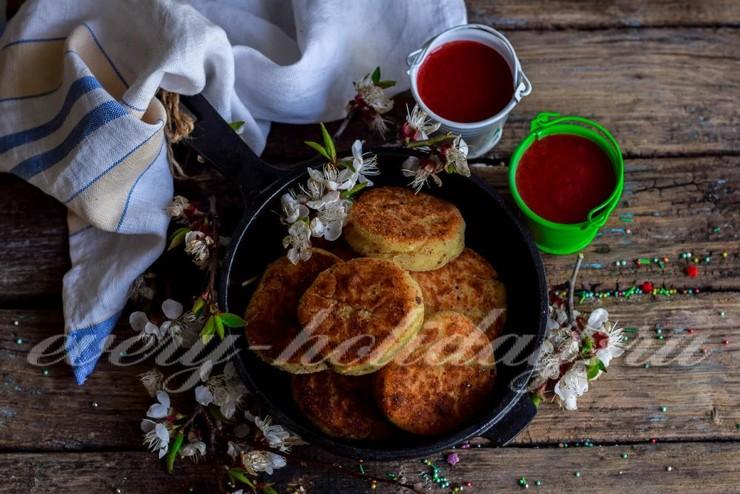 Классические сырники из творога на сковороде