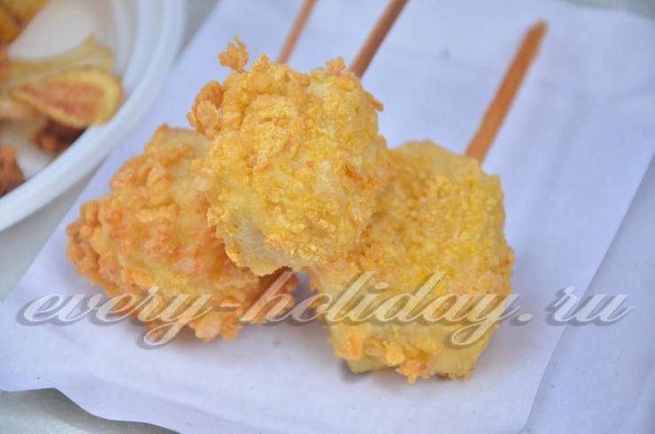 Сыр в кляре рецепт с фото пошагово