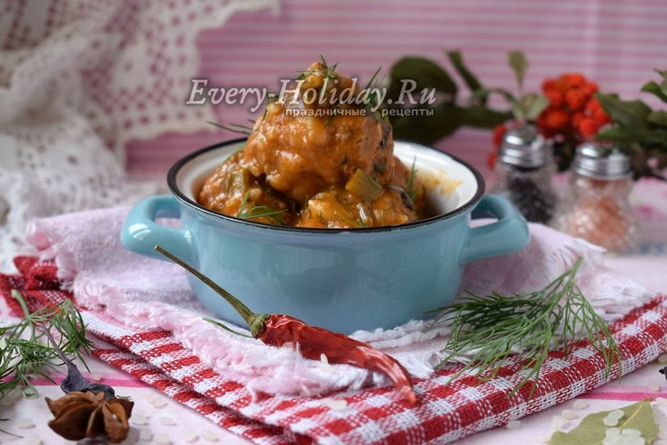 Фрикадельки ежики рецепт пошагово в духовке