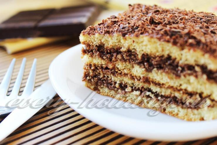 Бисквитный торт для начинающих