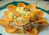 Простые салаты на стол рецепты с фото