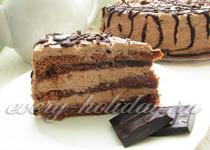 Легкий торт своими руками