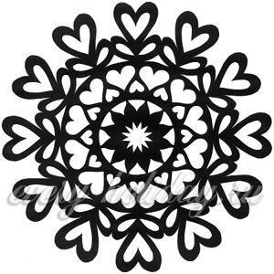 Распечатать снежинки из бумаги шаблоны для вырезания