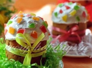 Куличи пасхальные, рецепты приготовления с фото: готовим дома