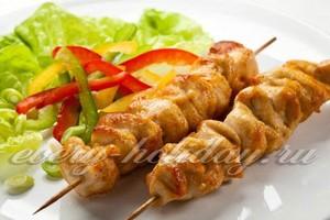Шашлык из курицы: маринад самый вкусный, чтобы мясо было мягким