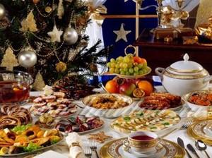 Традиционные блюда на Новый год в России