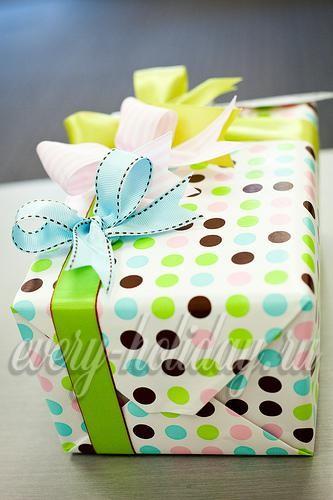 Интересная упаковка детского подарка на день рождения 58