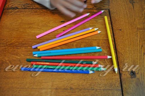 Оставшиеся карандаши