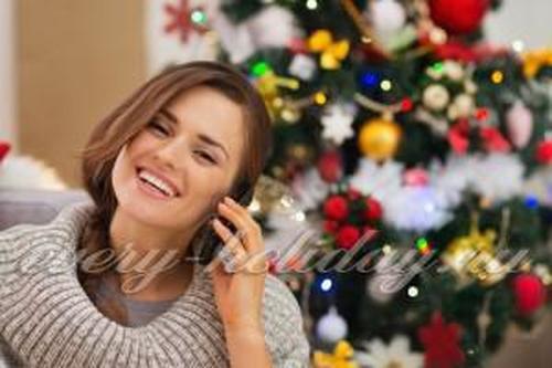 Новый год на телефоне