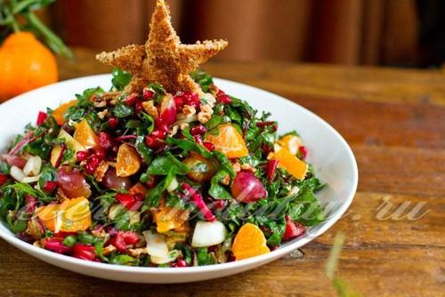 Постные салаты на новый год 2017 рецепты