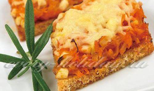 Оранжевые бутерброды