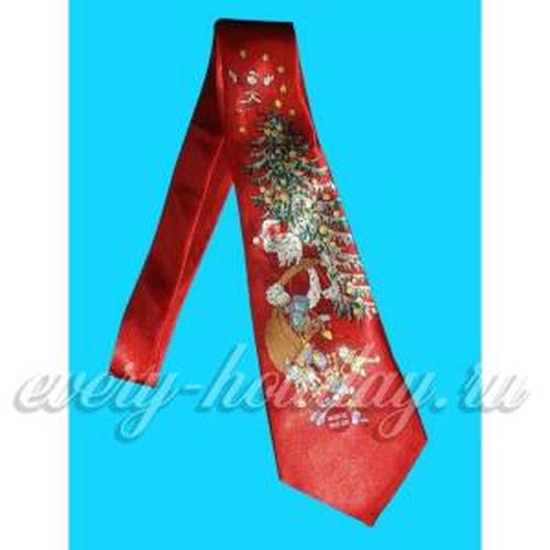 Новогодний галстук