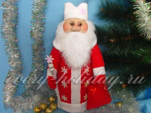 Одежда «Дед Мороз» на шампанское