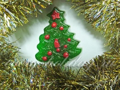 Мыло «Новогодняя елочка» своими руками