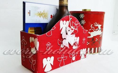 Новогодняя подарочная упаковка своими руками