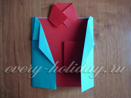 Открытка рубашка с галстуком своими руками пошаговая инструкция с фото 58