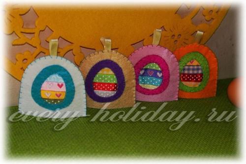 Фетровые грелки на яйца на Пасху