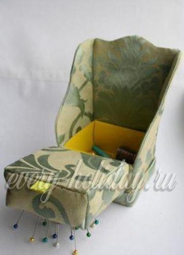 Кресло игольница