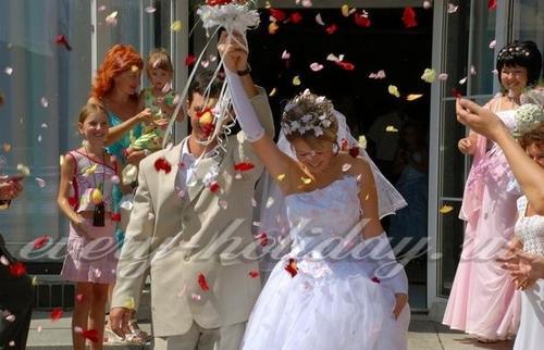 Сценарий свадьбы – 2017 без тамады для небольшой компании