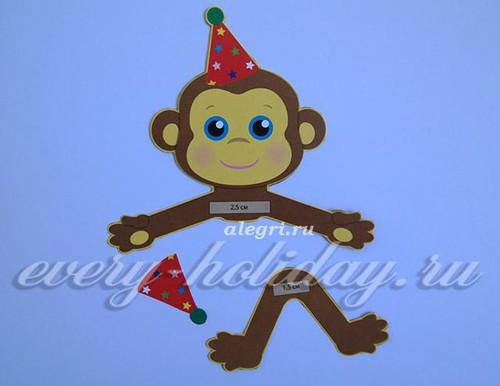 обезьянка из ниток_1