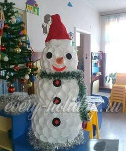 новогодние поделки своими руками для детского сада