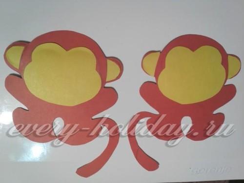 бумажная обезьянка