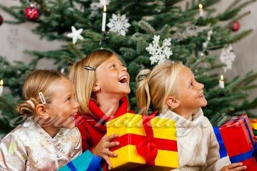 Новогодние стихи для детей 4-5 лет