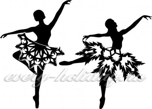 Балерина вытынанка из бумаги шаблоны для вырезания