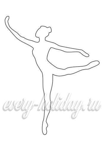 Бумажная балерина из органзы своими руками