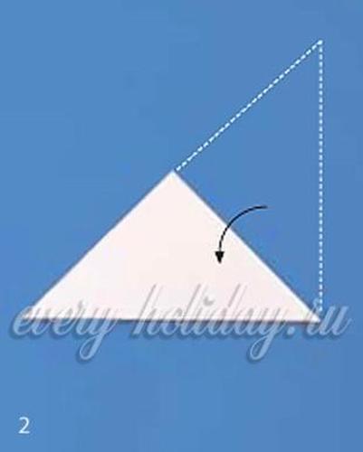 Как сделать снежинку из бумаги