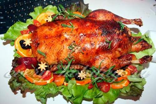 рецепт мягкой утки в духовке