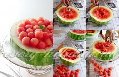 Как красиво нарезать фрукты на стол в домашних условиях: фото