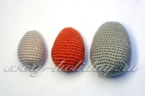 пасхальные яйца вязанные крючком