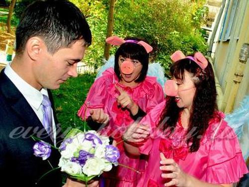 Выкуп невесты: сценарий смешной, современный