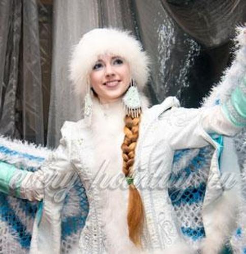 Костюм снегурочки своими руками: выкройка (взрослый)
