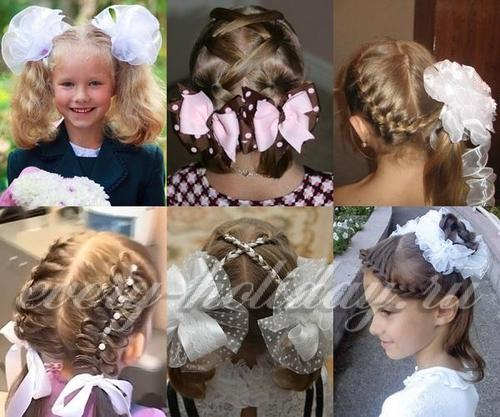 Плетения из волосы на линейку
