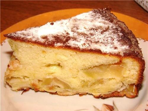 Рецепты шарлотки с яблоками классический рецепт с пошагово