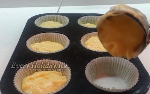 Кексики на сметане в силиконовых формочках: рецепты с фото