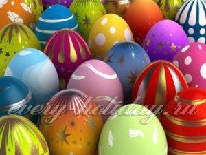 16 способов как покрасить яйца на Пасху …
