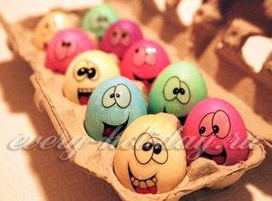 Покраска яиц способ 7