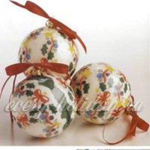 Новогодние шары из салфеток своими руками, пошаговые фото