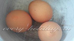 куриные яйца отварить