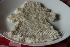 выложите рис в форме деда мороза